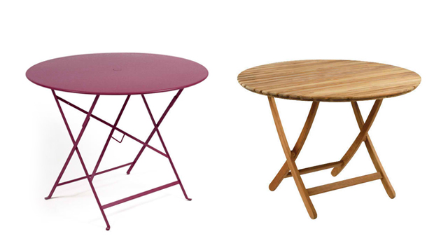20 Awesome Circle Outdoor Folding Tables Home Design Lover