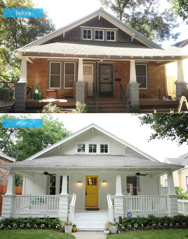 Before And After A Dilapidated Shocker Craftsman Home