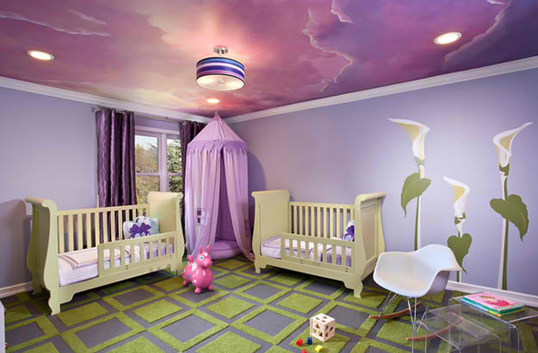 20 Whimsical Ceiling Ideas Of Nurseries And Toddler S Rooms Home Design Lover