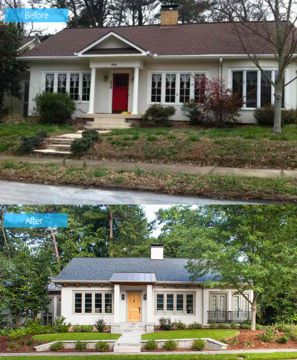 Before And After Photos Of The Wilton Whole Home Renovation In Georgia Home Design Lover