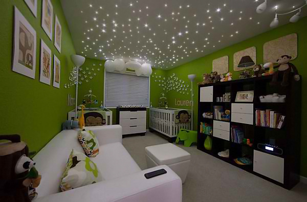 Lauren and Miranda's Colorful Nursery