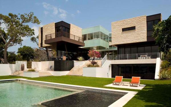 lawn swimming pool