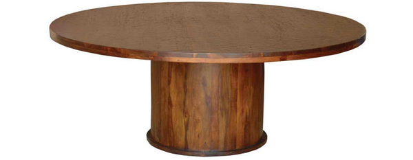 wooden coffee table base