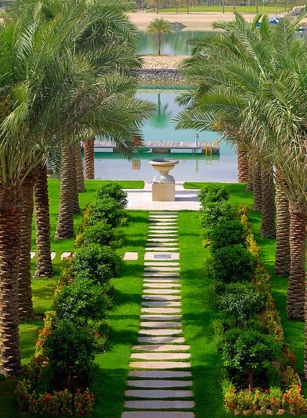 Tropical Landscape Designs that Brings Coolness to your ... on Landscape Design Ideas  id=65472