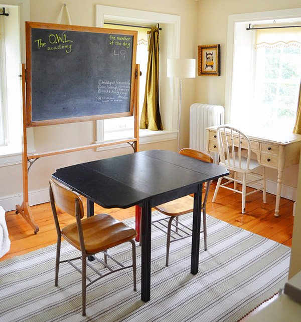 Homeschool Room Ideas Small Spaces: 20 Functional And Cool Designs Of Study Rooms