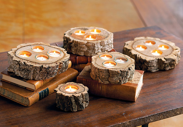 Enhance Your Rustic Place With 20 Wooden Centerpiece