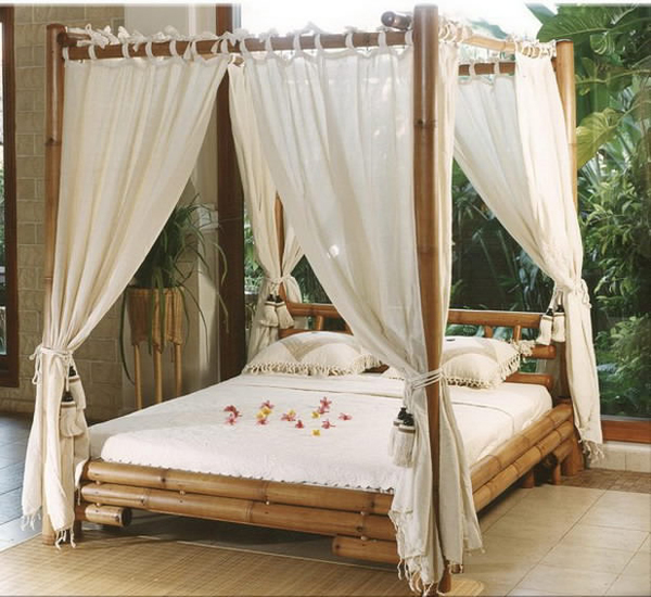 20 Fascinating Bamboo Canopy Beds And Daybeds Home Design Lover