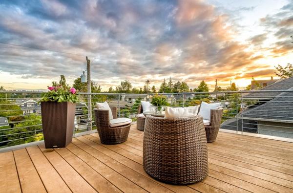 terrace furniture set