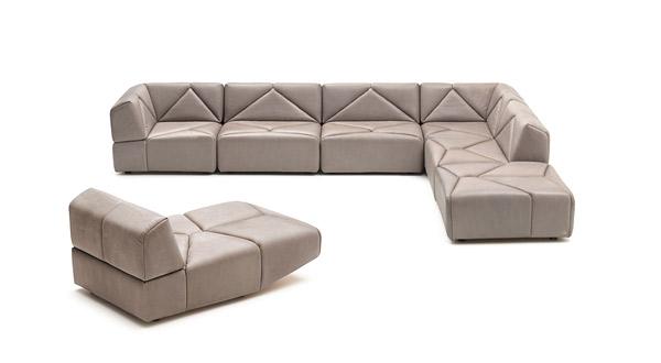 leatherette modular
