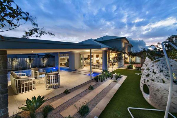 patio lawn design
