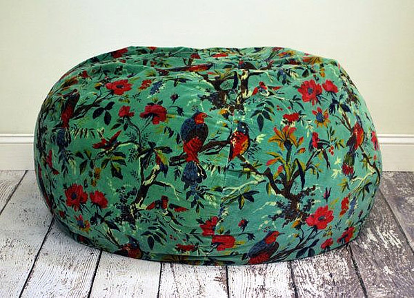 20 Styles Of Green Bean Bag That Will Cheer Up Your Living