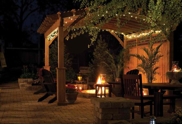 20 Amazingly Gorgeous Gazebo Lighting Home Design Lover