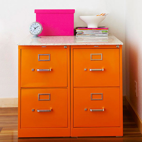 Metal File Cabinets Photo