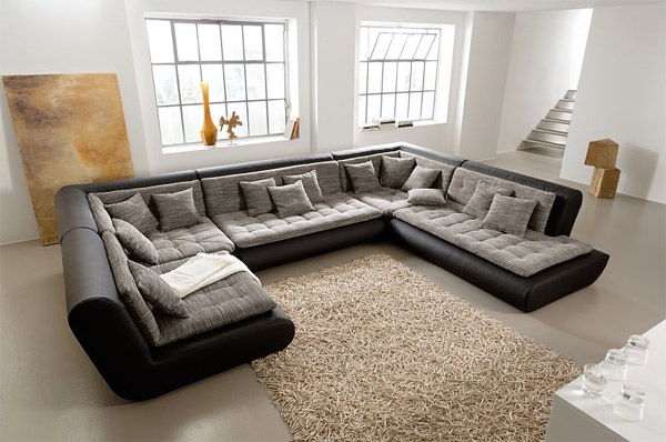 cuddle into this 20 comfortable floor level sofas home design lover. Black Bedroom Furniture Sets. Home Design Ideas