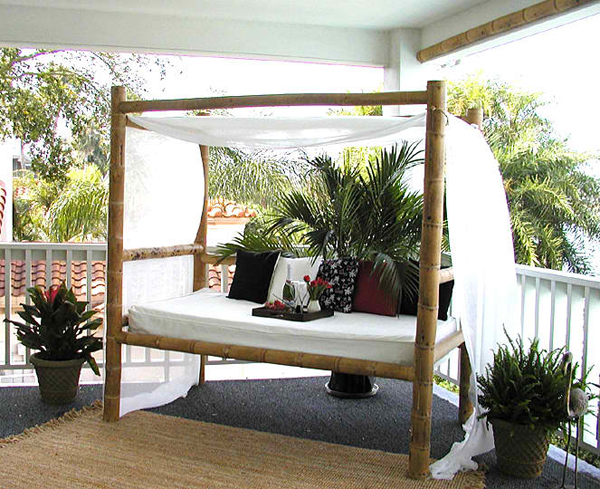 Very best 20 Fascinating Bamboo Canopy Beds and Daybeds | Home Design Lover IE76