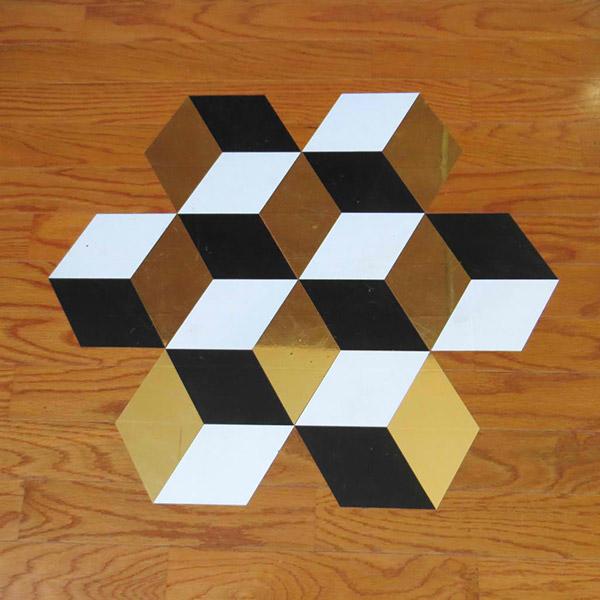 vinyl tile design