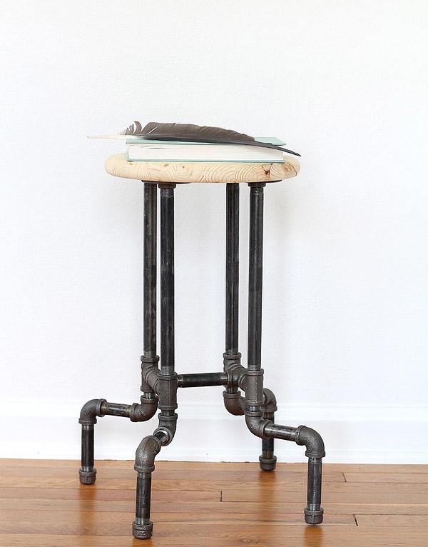 pipe stool
