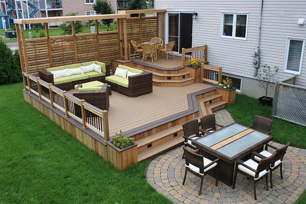 20 Timber Decking Designs that can Append Beauty of your ... on Timber Patio Designs id=46781