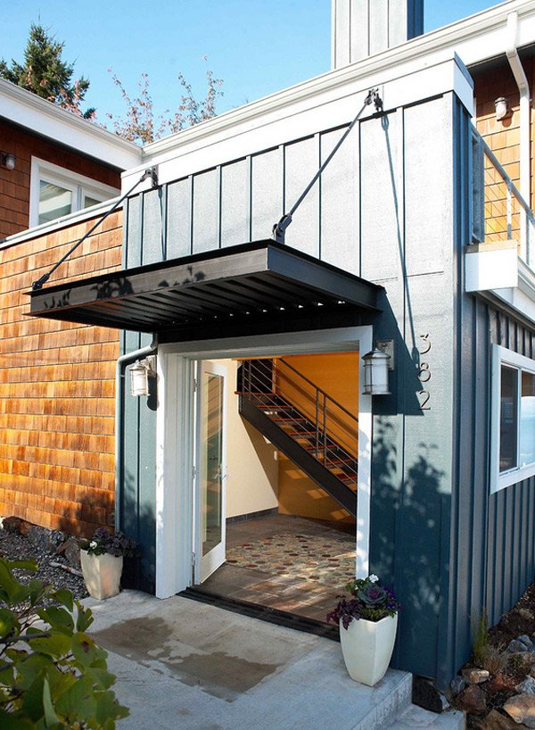 Add Decors To Your Exterior With 20 Awning Ideas Home