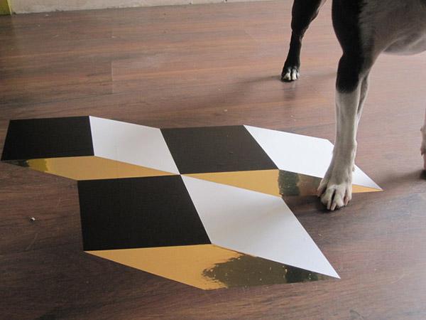 Geometric Vinyl Tiles