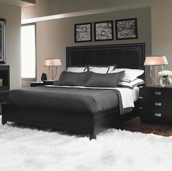 20 Sophisticated Full Beds in Black and White   Home ...