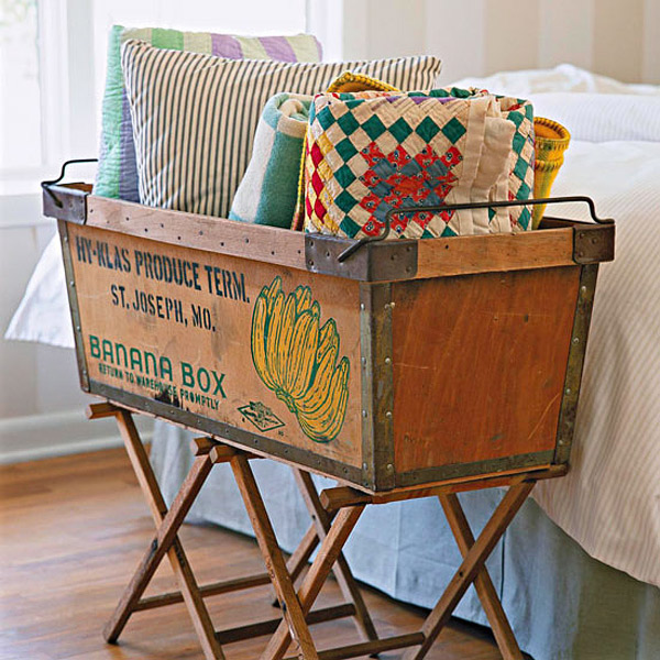 linen basket storage