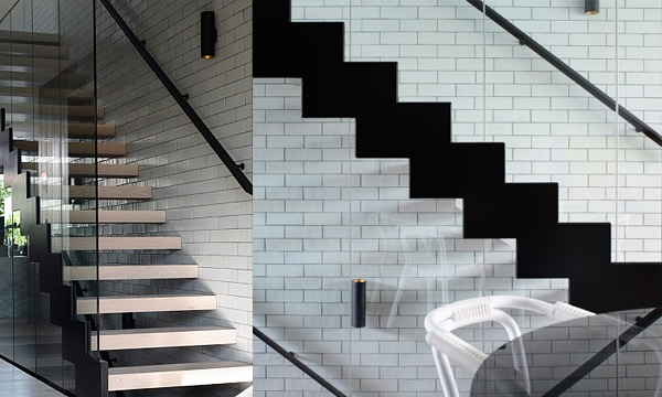 transparent staircase