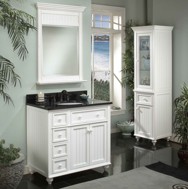 Bathroom Ideas White Vanity Part - 34: Home Design Lover