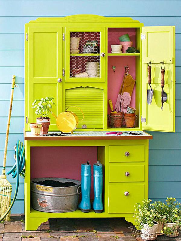 armoire garden storage