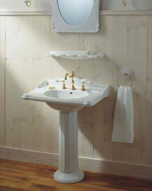 sink design bathroom 20 fascinating bathroom pedestal sinks home design lover 14430