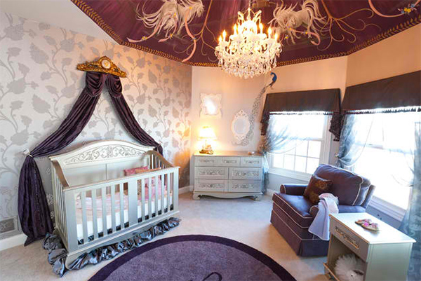 Magical Baby Girl Nursery