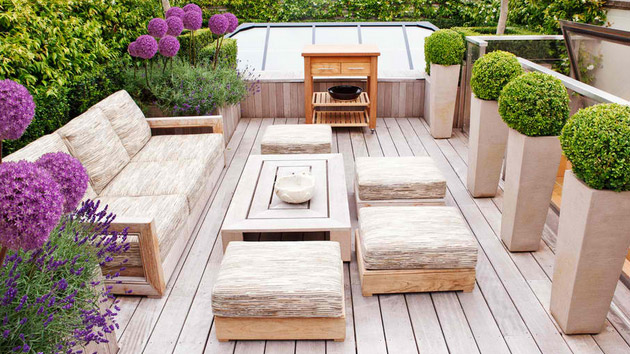 20 wonderful outdoor garden furniture ideas in wood home design lover for Patio furniture designs plans