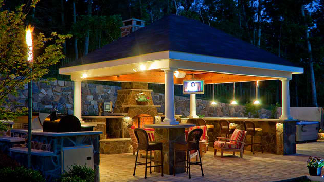 Amazingly Gorgeous Gazebo Lighting Home Design Lover