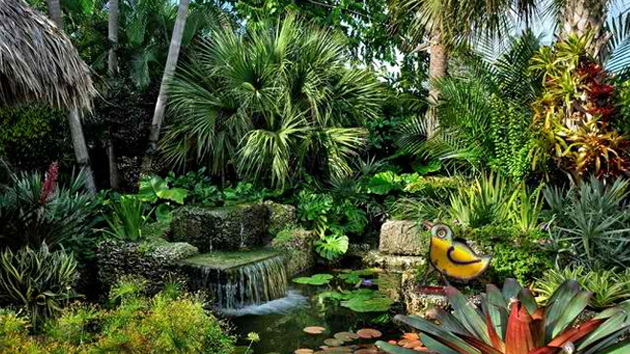 10 easy steps to make your dream tropical garden a reality for Tropical landscape