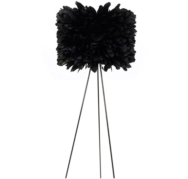 Black Floor Lamp appliance