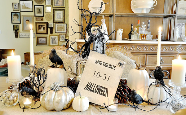 20 Astonishing Halloween Decors In The Dining Room Home Design Lover