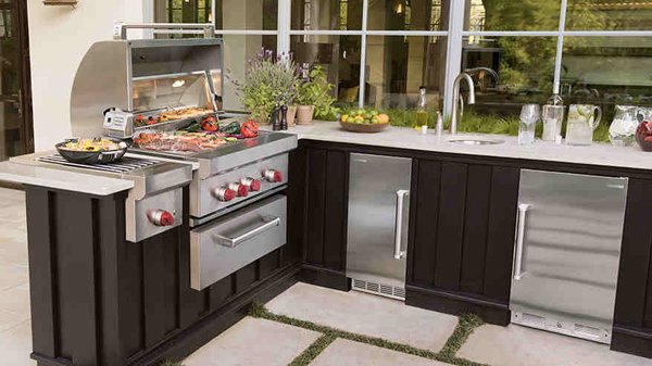 20 Fancy Modular Outdoor Kitchen Designs Home Design Lover