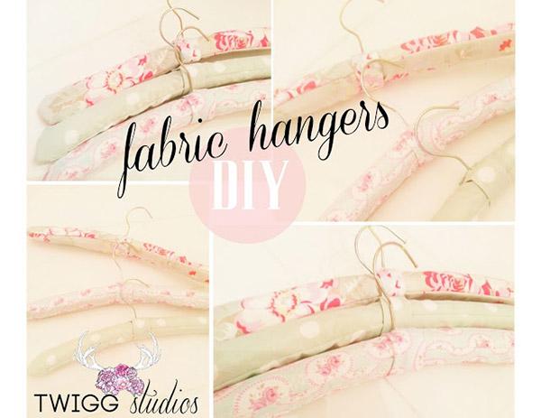 Fabric Hangers DIY
