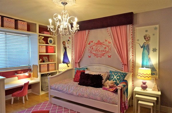 Special Spaces - Princess Bedroom