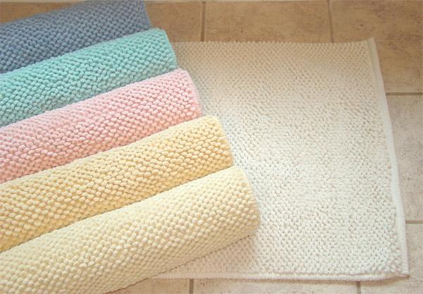 cotton bath bathroom floor rug