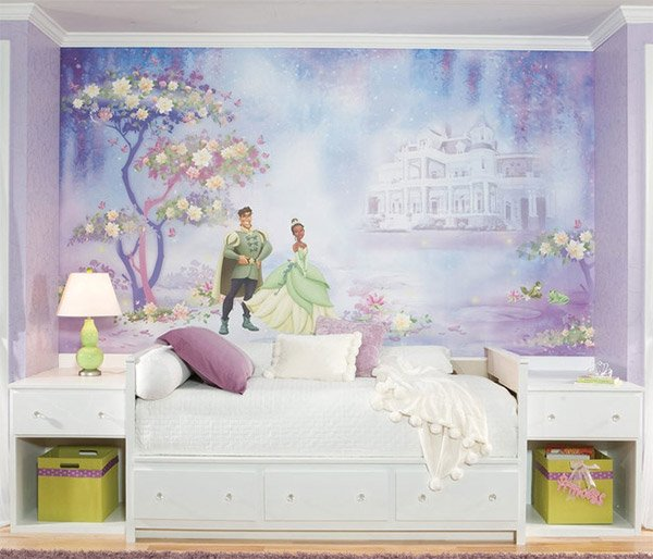 Tiana Princess-Frog Bedding and Room Decorations