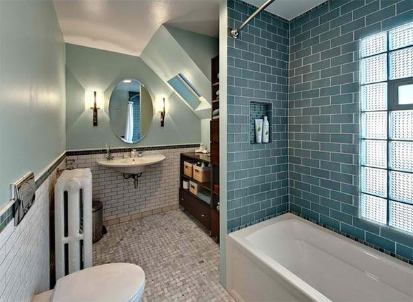 Old bathroom, new style