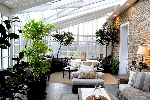 greenhouse porch