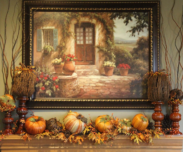 mantle painting
