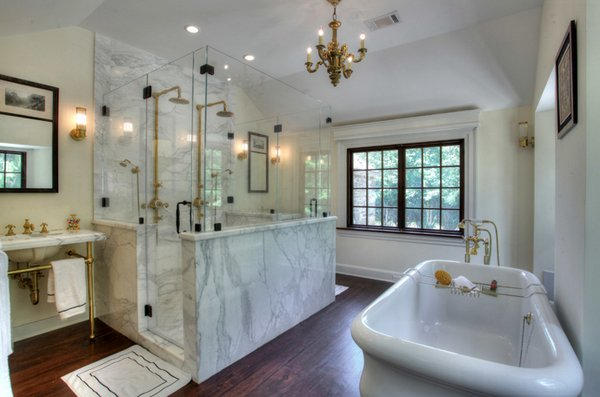 25 Beautiful Farmhouse Style Bathrooms Home Design Lover