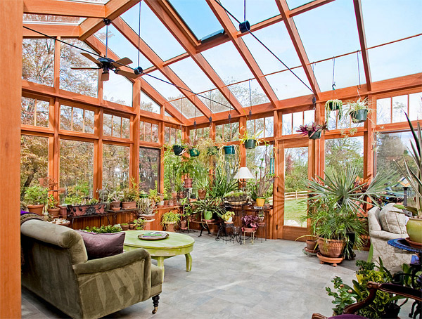 interior garden porch