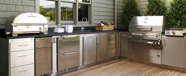 steel modular kitchens