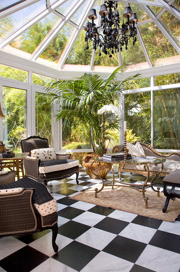 pre-fab conservatory