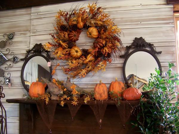 pumpkins decors