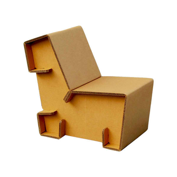 Chairigami Creative Furniture Made From Cardboard Home Design Lover